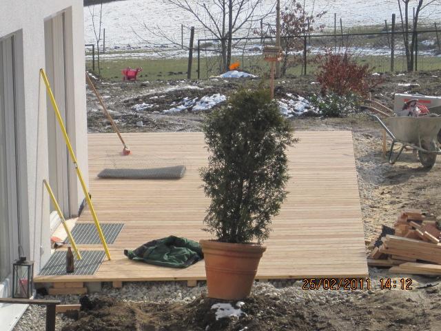 WT Gartenbau Holzterrasse 22