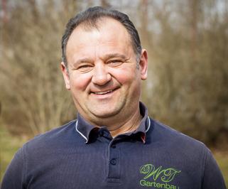 Inhaber und Gärtner Dragisa Walter-Topic von WT Gartenbau